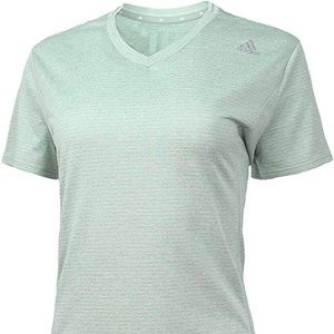 Adidas Women Supernova V-Neck Tee Large